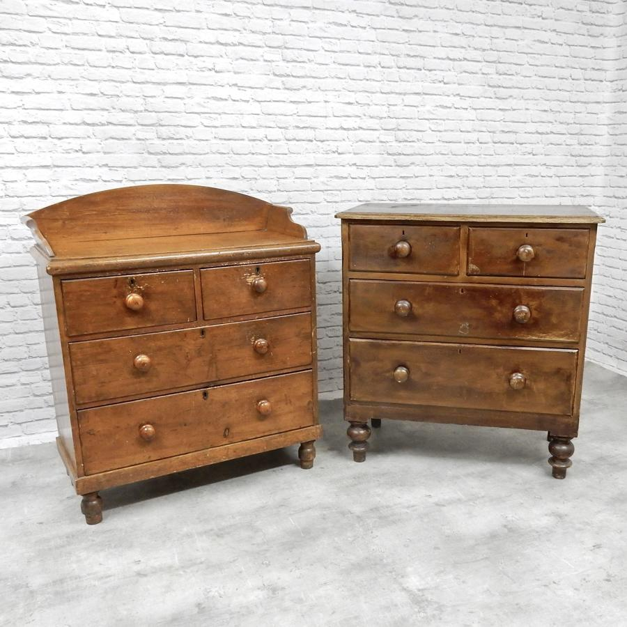 2x Victorian Chests