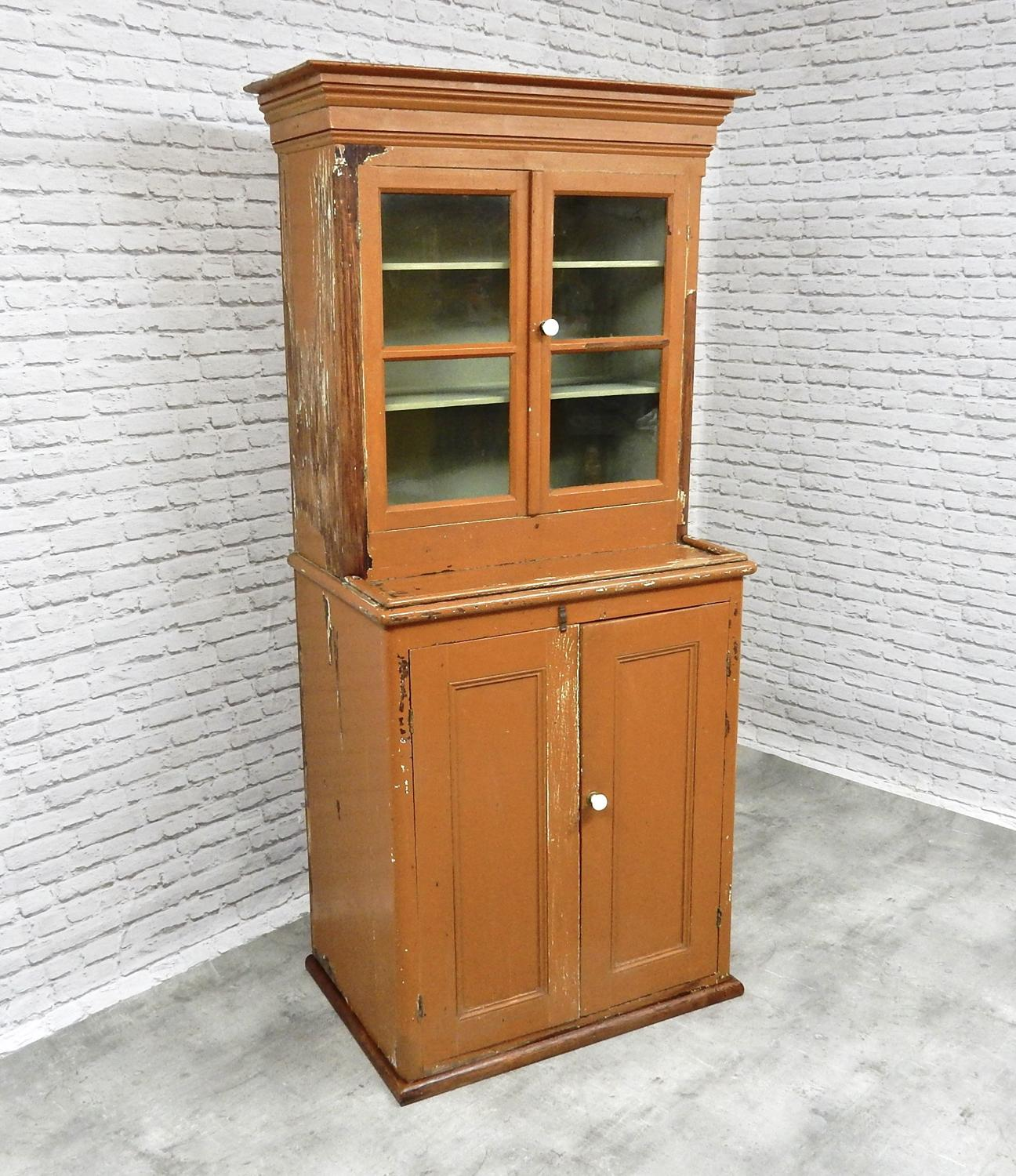 Glazed Kitchen Cupboard Dresser
