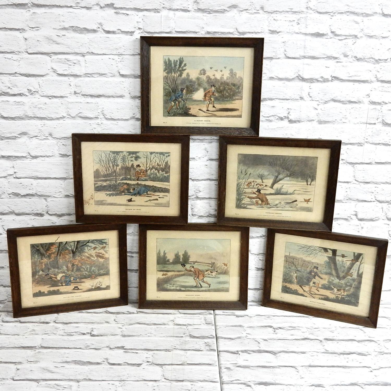 Alken Hunting Prints