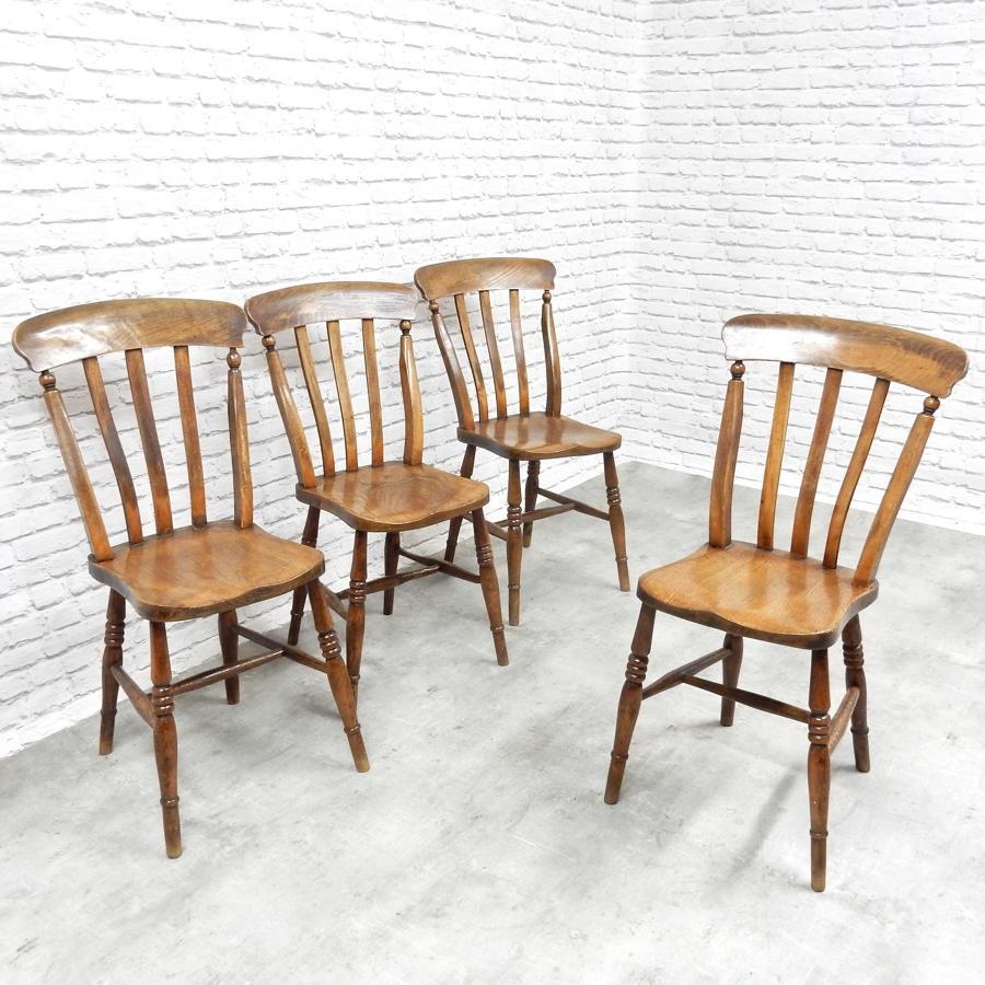 Antique Farmhouse Kitchen Chairs