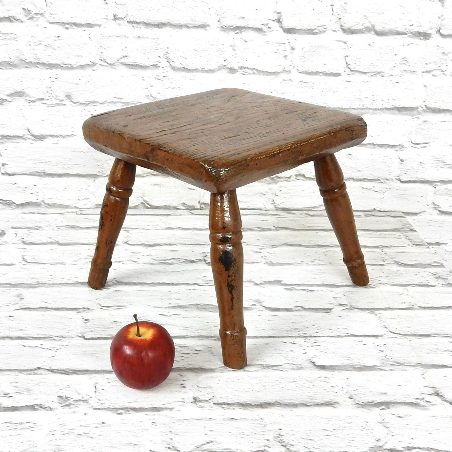 Small Antique Stool