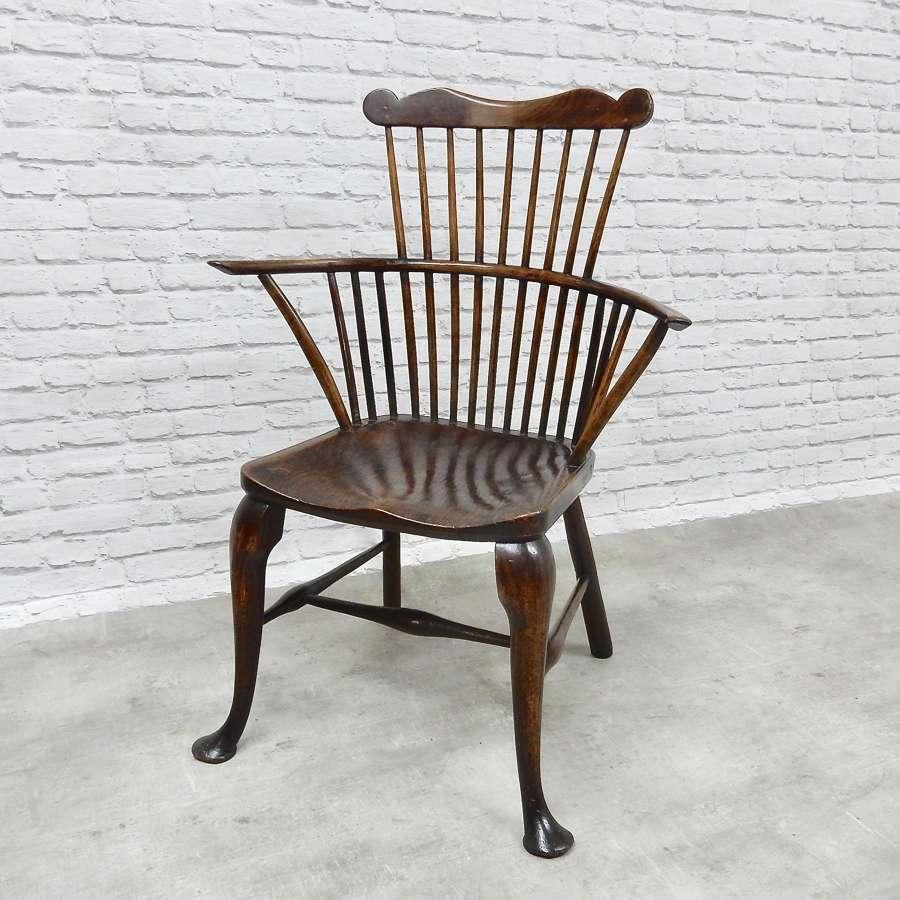 Comb Back Windsor Armchair
