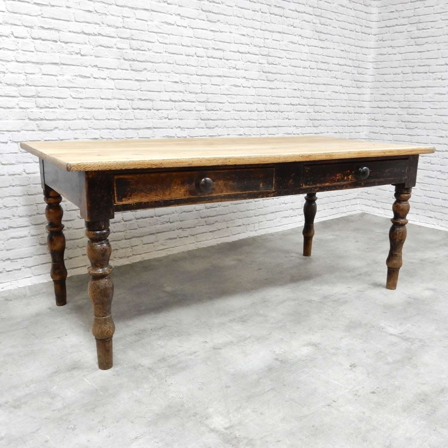 Antique Farmhouse Kitchen Table