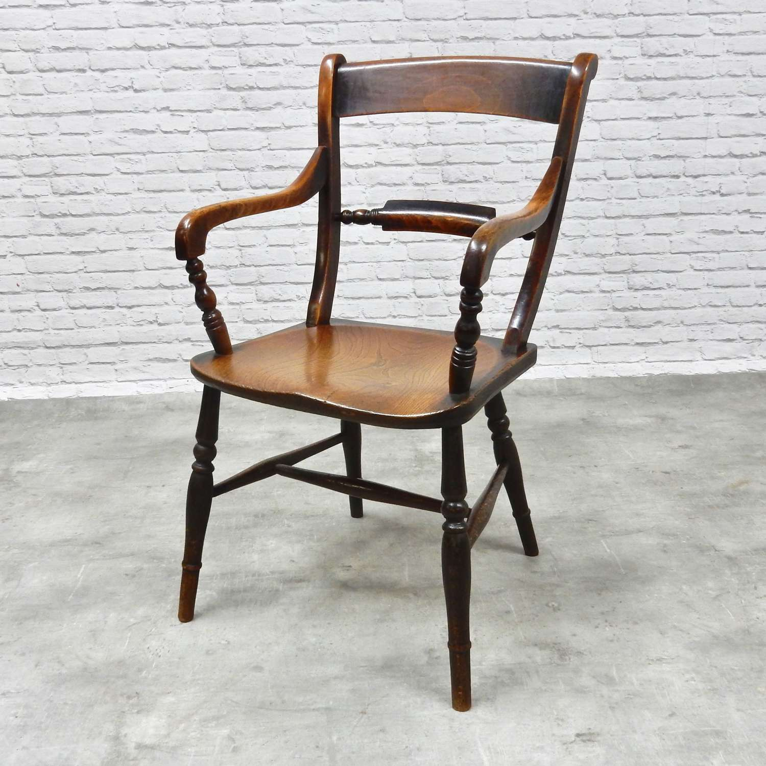 Antique Oxford Windsor Armchair