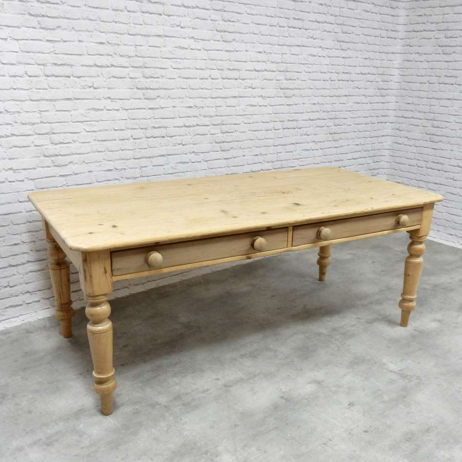 C19th Farmhouse Kitchen Table