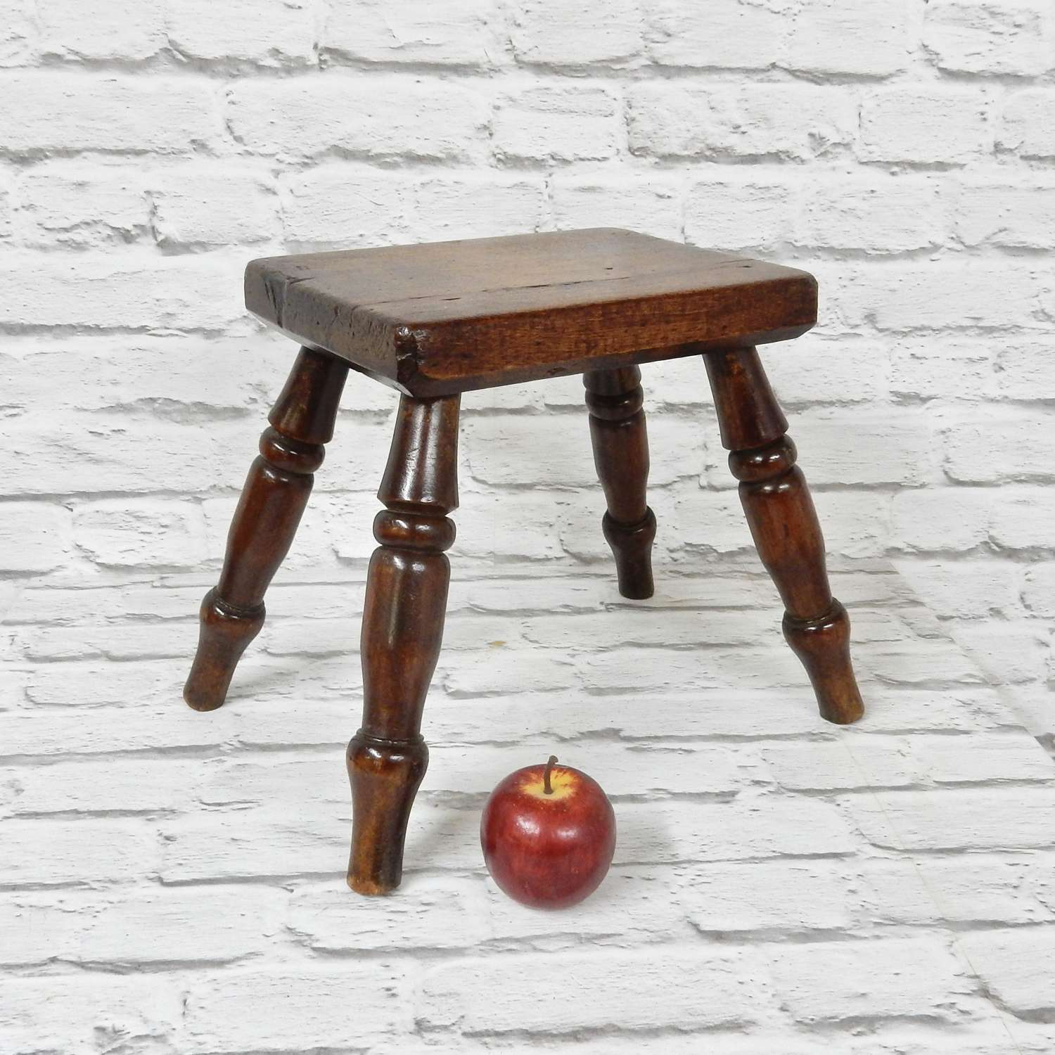 C19th Country Stool