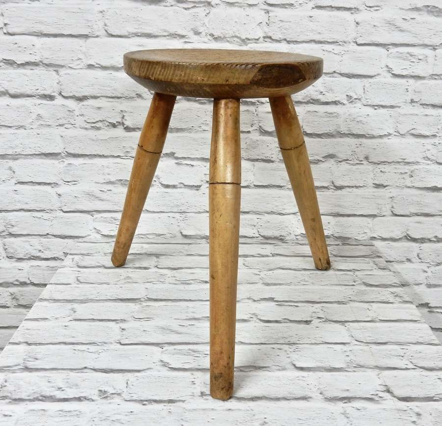 C19th Milking Stool