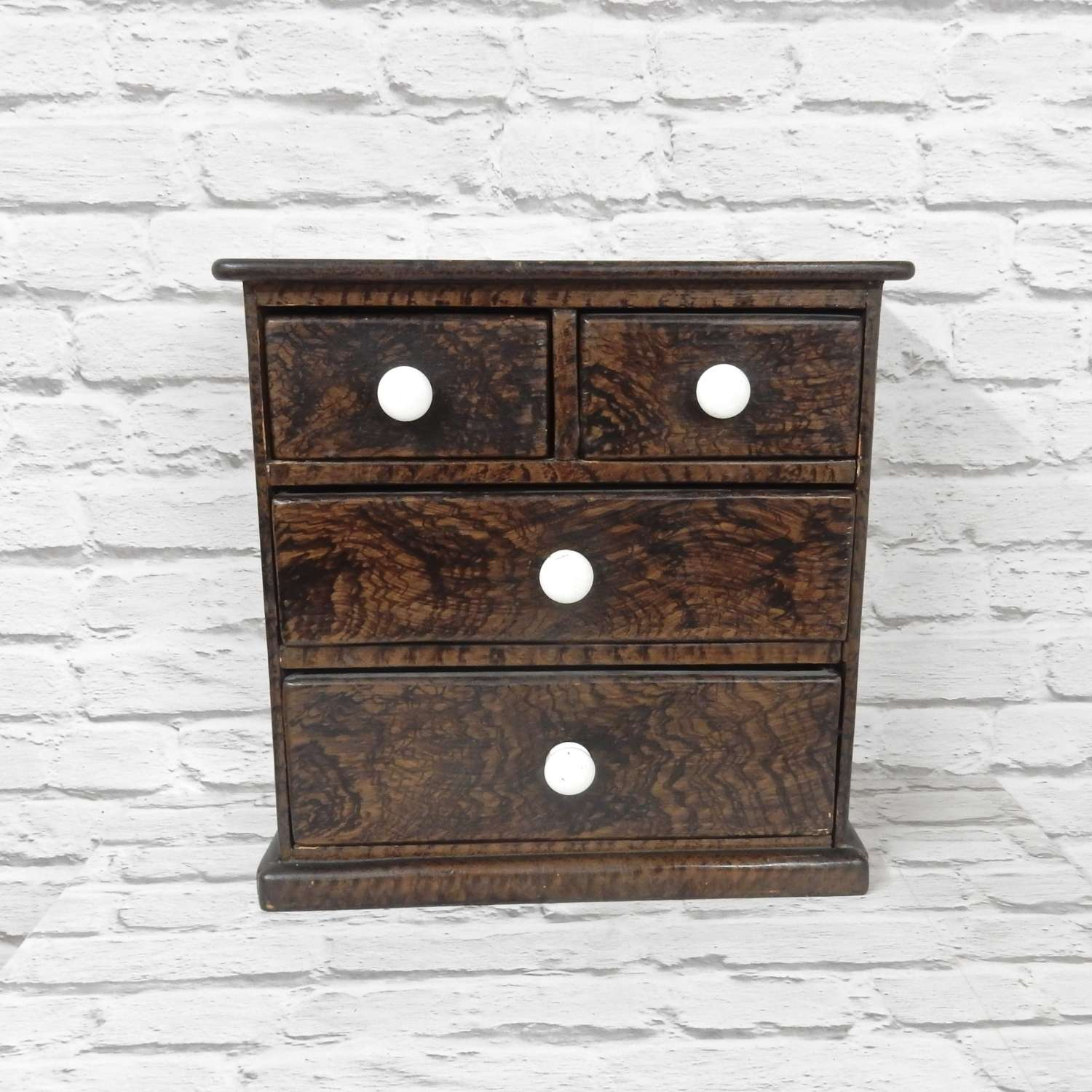 Antique Miniature Chest