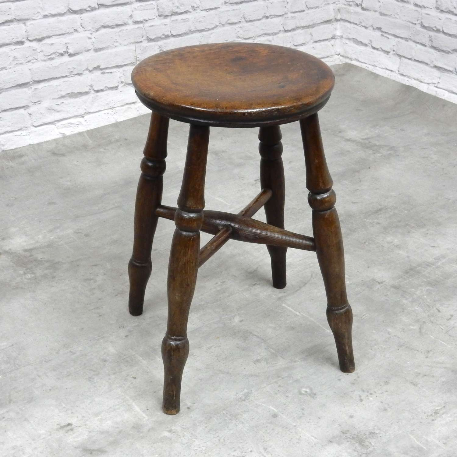 C19th Windsor Bar Stool
