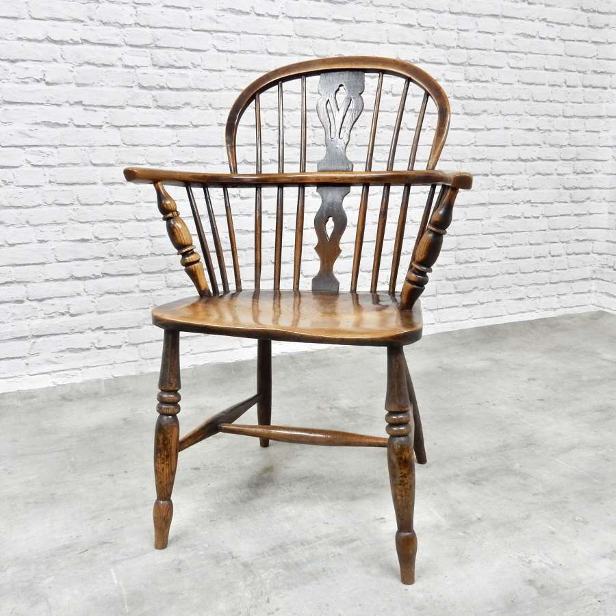 C19th Lowback Windsor Armchair
