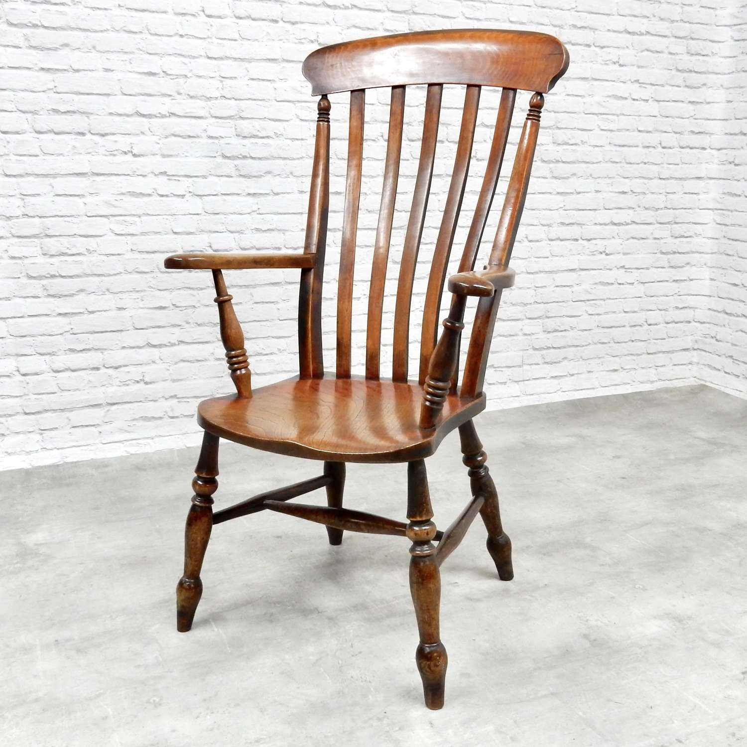 C19th Windsor Armchair