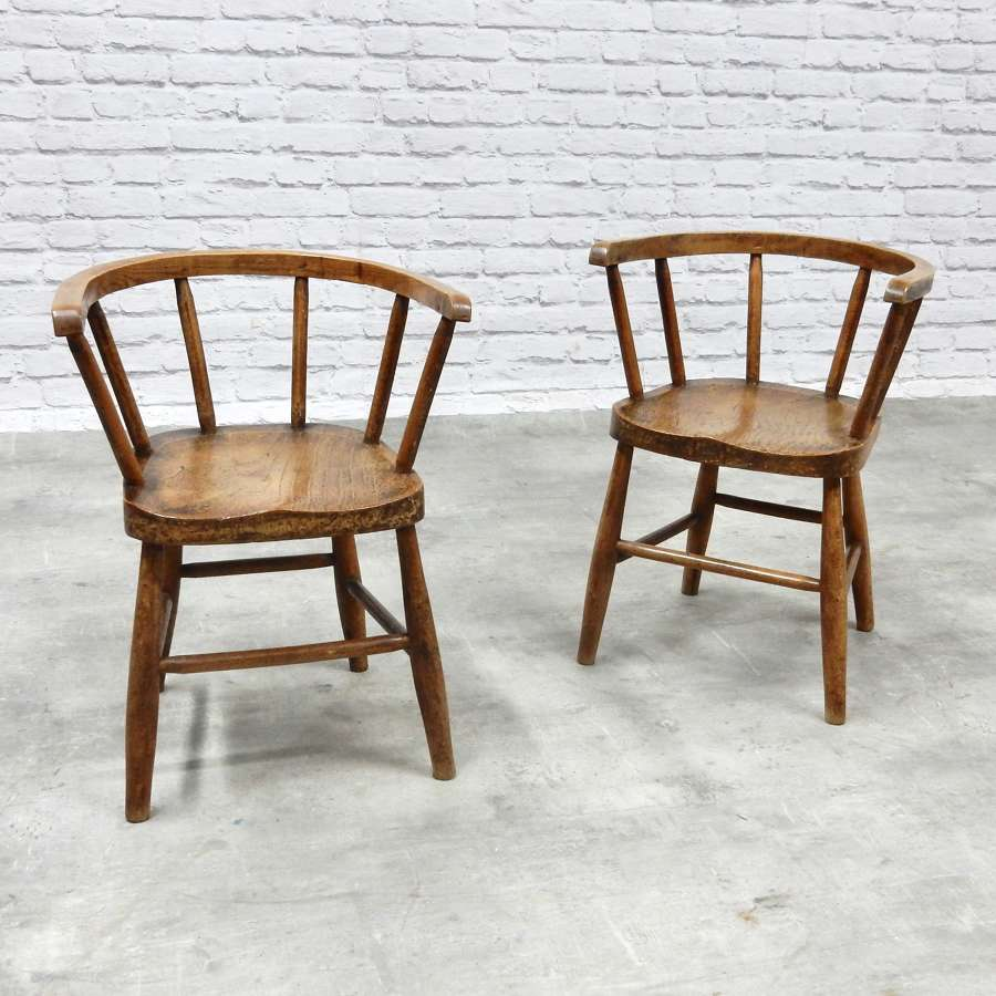 Pair of Child's Chairs