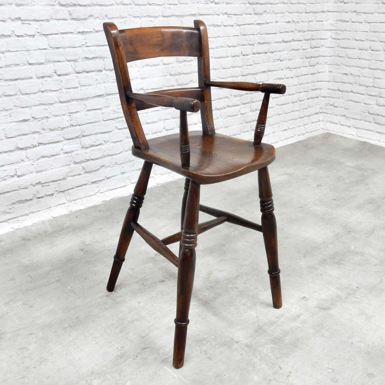 Antique Childs Highchair