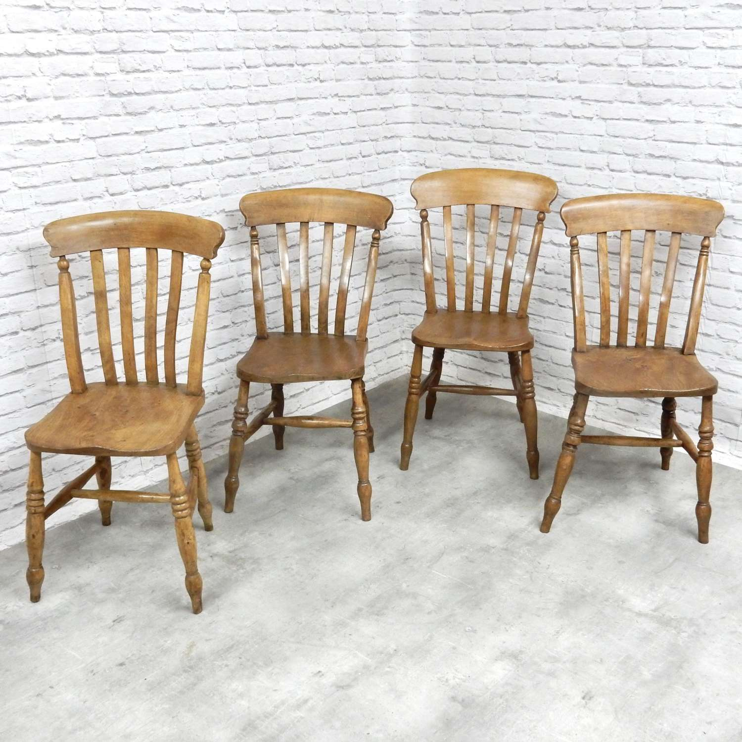 Harlequin Set Windsor Kitchen Chairs