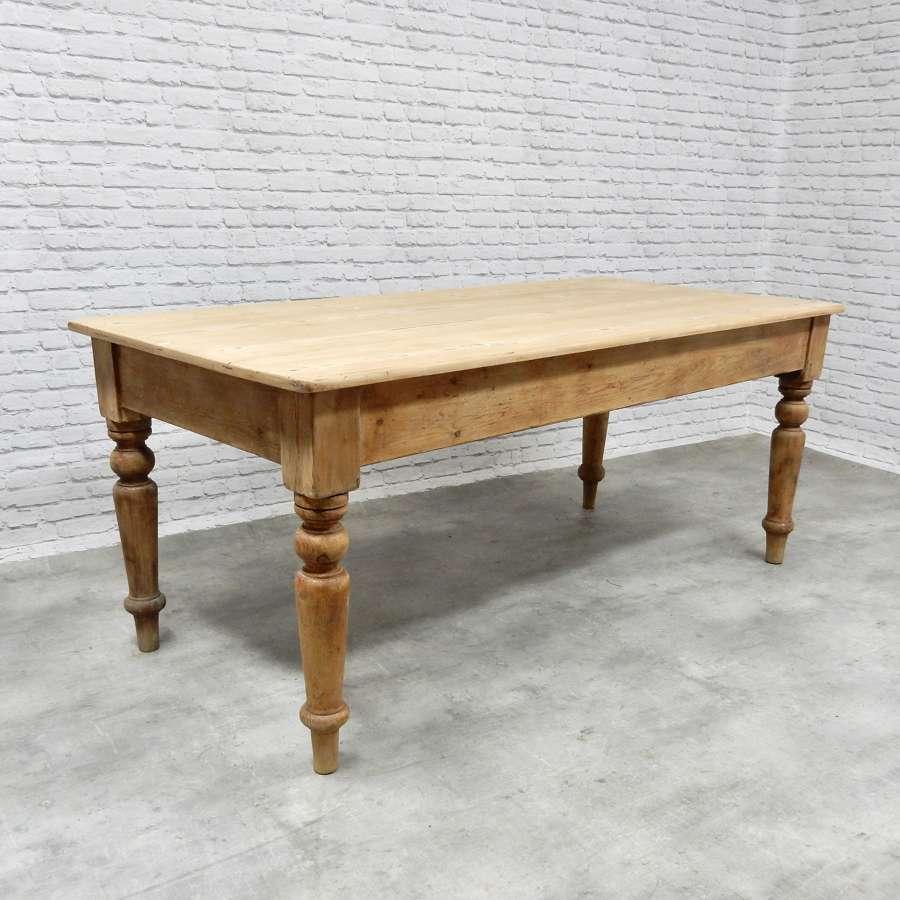 Pine Farmhouse Kitchen Table