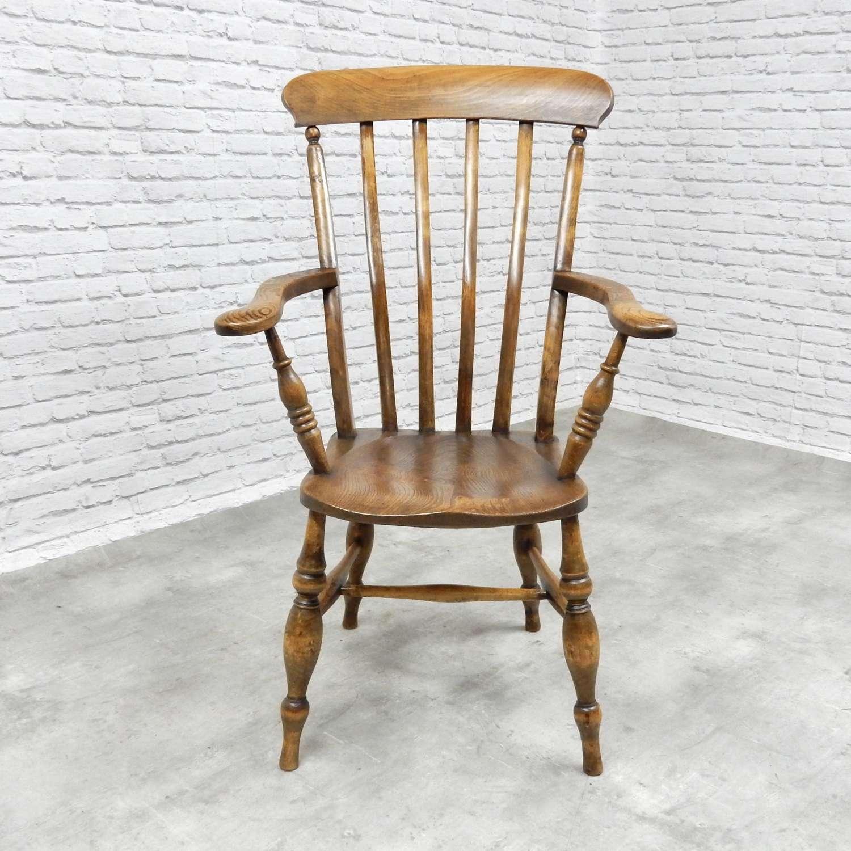 Golden Windsor armchair
