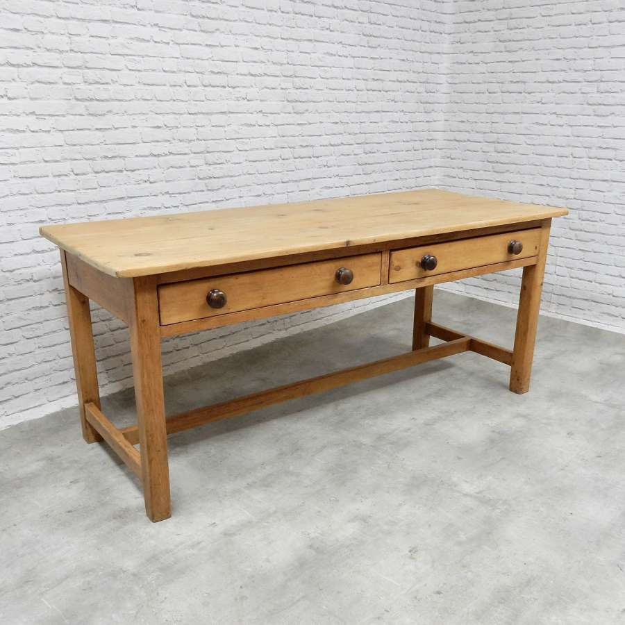 C19th Pine Refectory Table