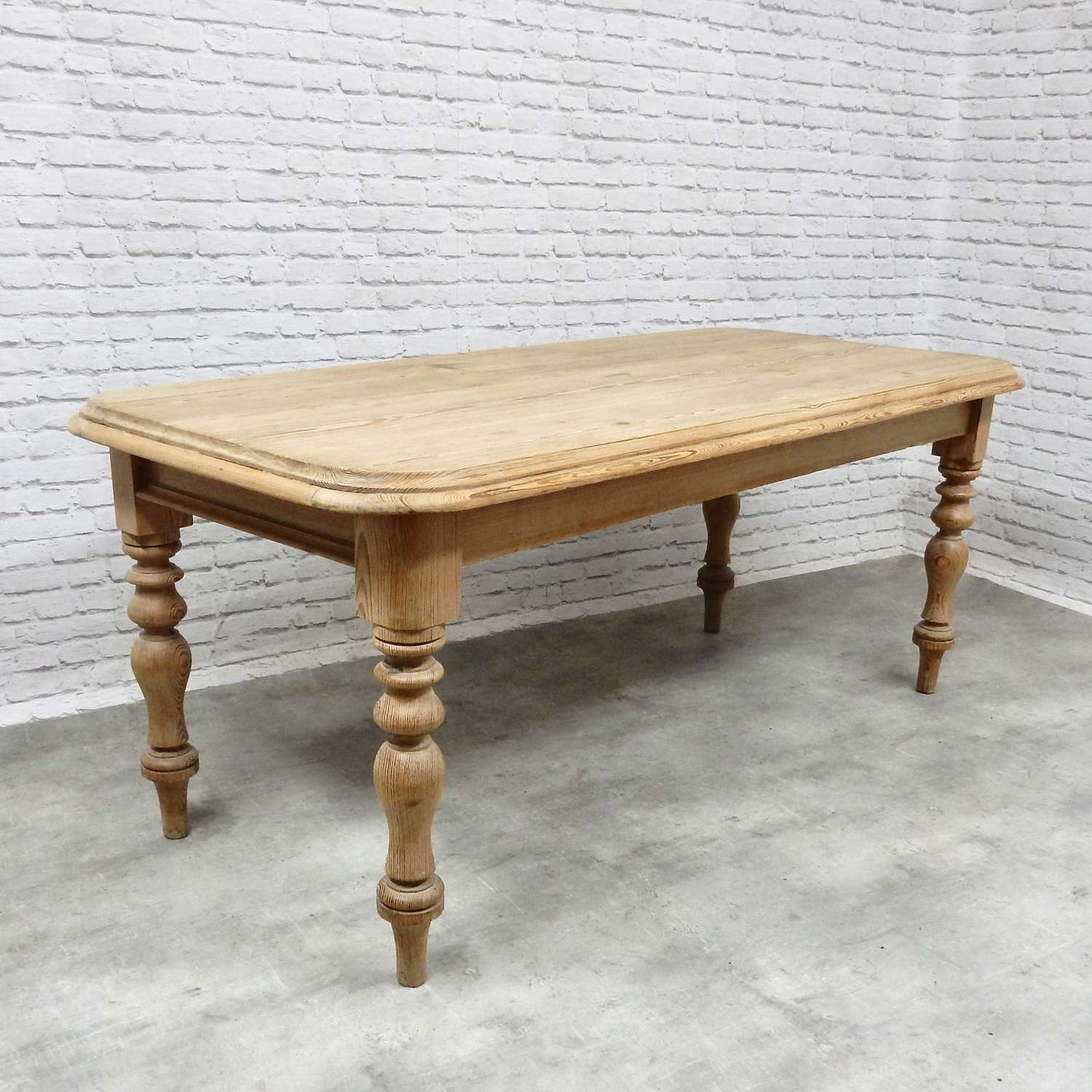Antique Pine Kitchen Table