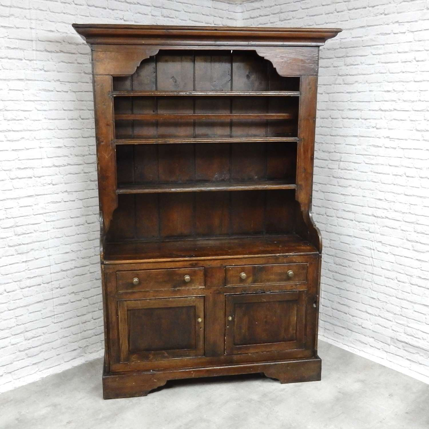 Antique Pine Kitchen Dresser