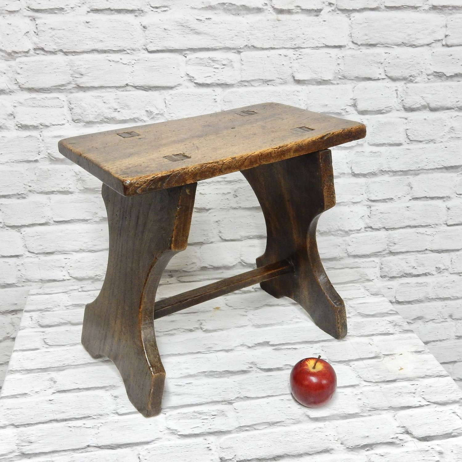 C19th Trestle Stool