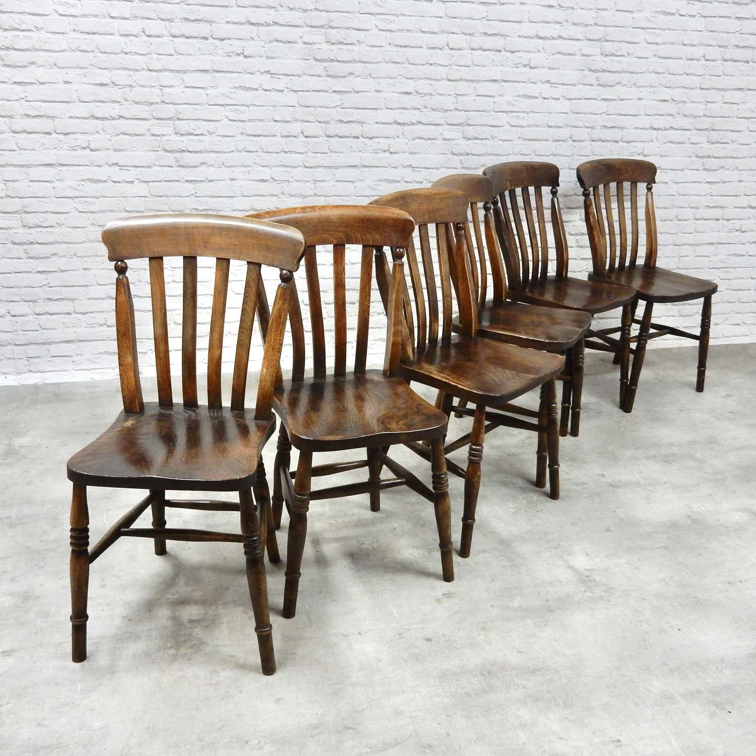 Vintage Windsor Kitchen Chairs
