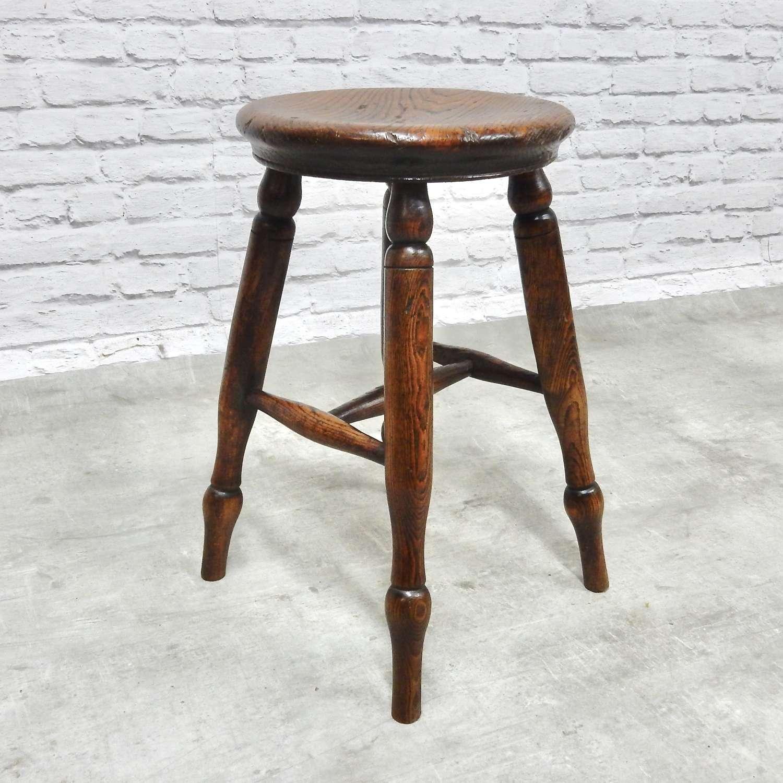 C19th Pub stool