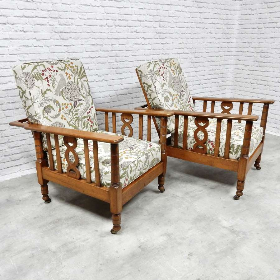 Reclining Arts & Crafts Armchairs