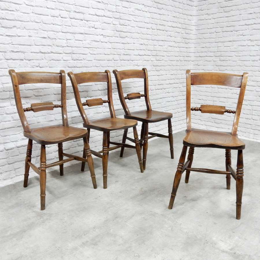 Antique Windsor Oxford Chairs