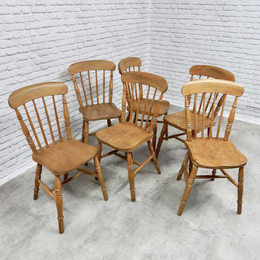 Stickback Windsor Chairs, c,1900