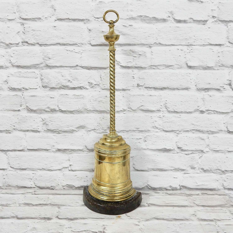 Antique Brass Doorstop