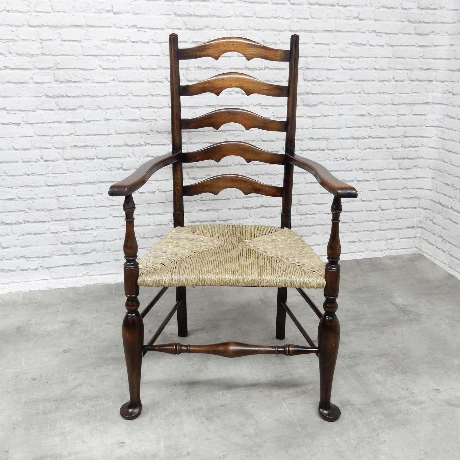 Large Ladderback Armchair