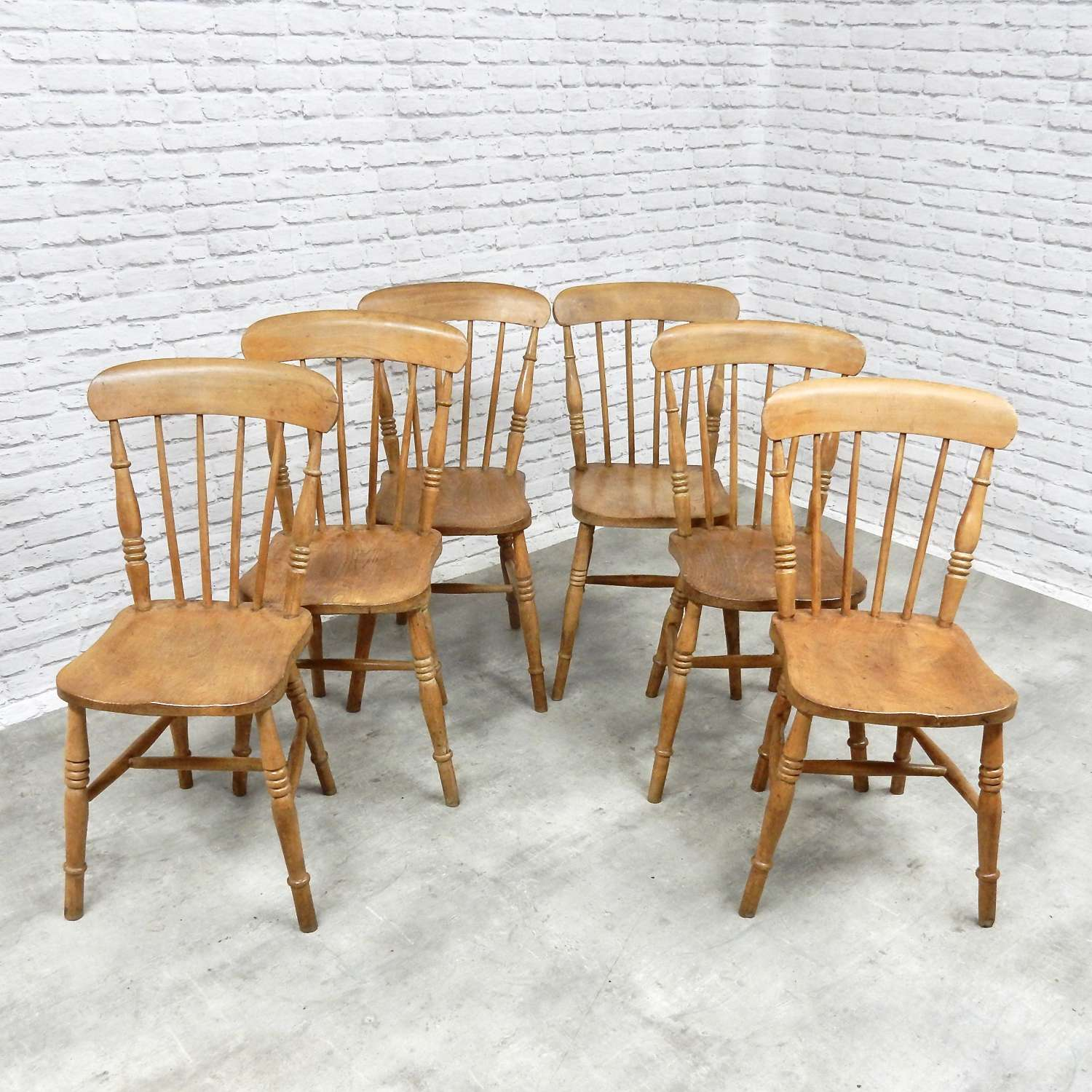 Windsor Stickback Kitchen Chairs