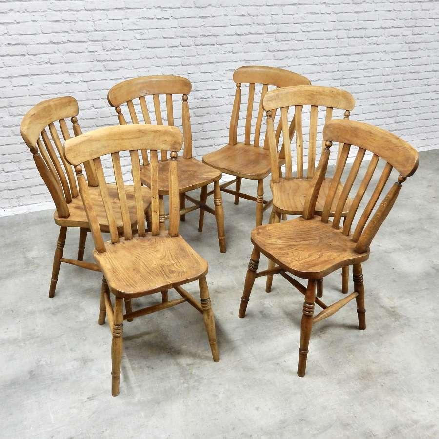 Set Windsor Kitchen Chairs