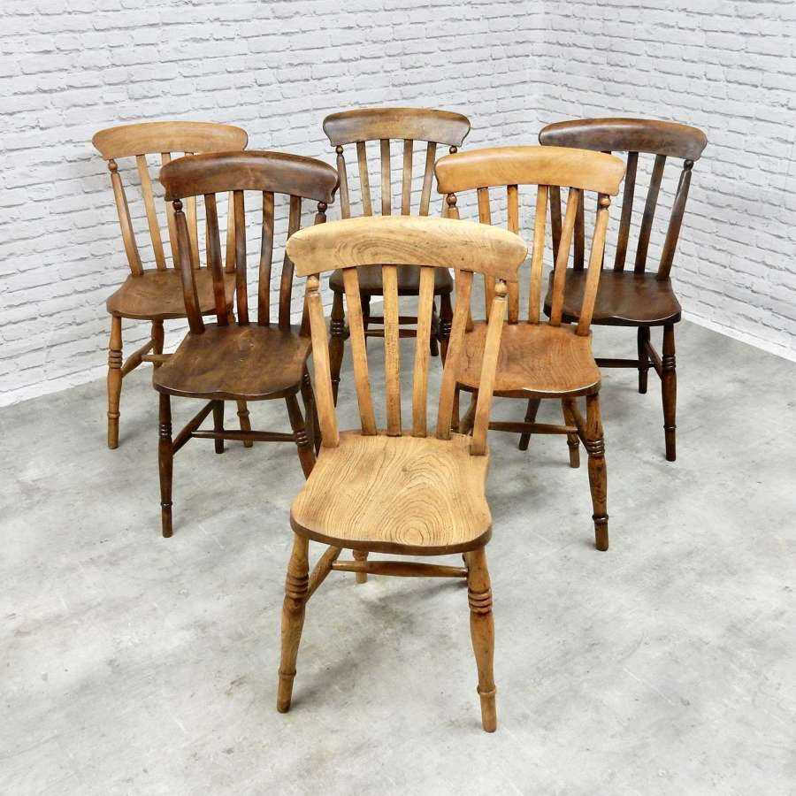 Windsor Kitchen Chairs x6
