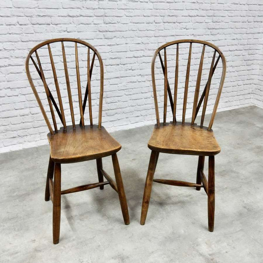 West Country Stickback Sidechairs