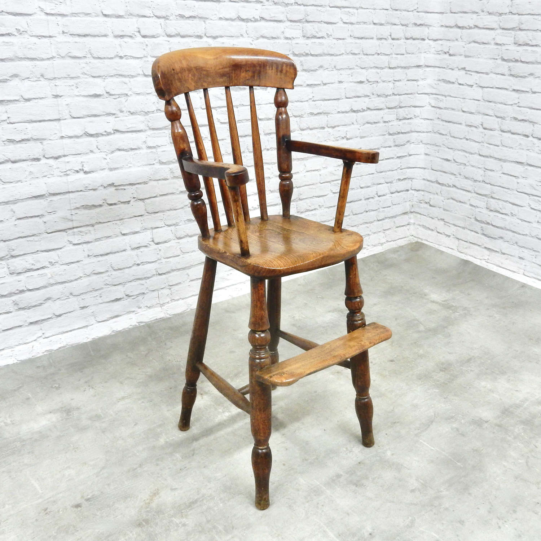 Antique Windsor Highchair