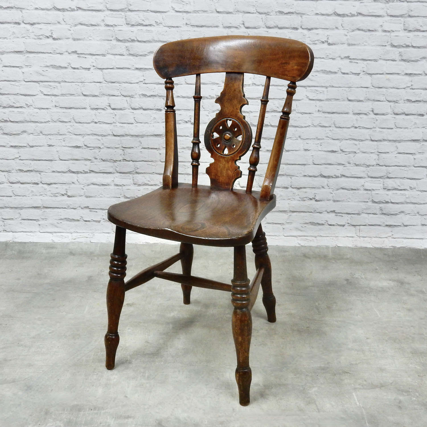 C19th Windsor Side Chair