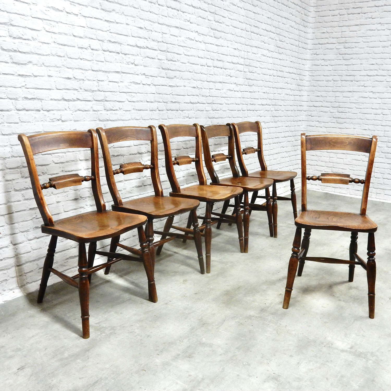 Named Oxford Windsor Kitchen Chairs