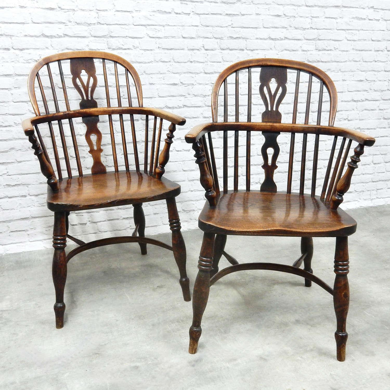 Pr Named Windsor Armchairs