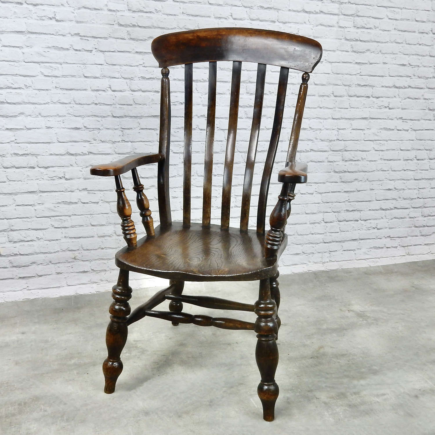 Large Grandfather Windsor Armchair