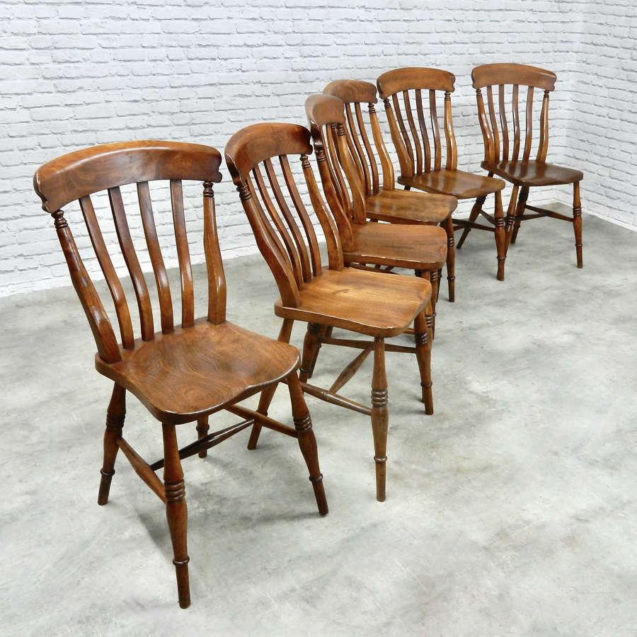 Set Lathback Kitchen Chairs