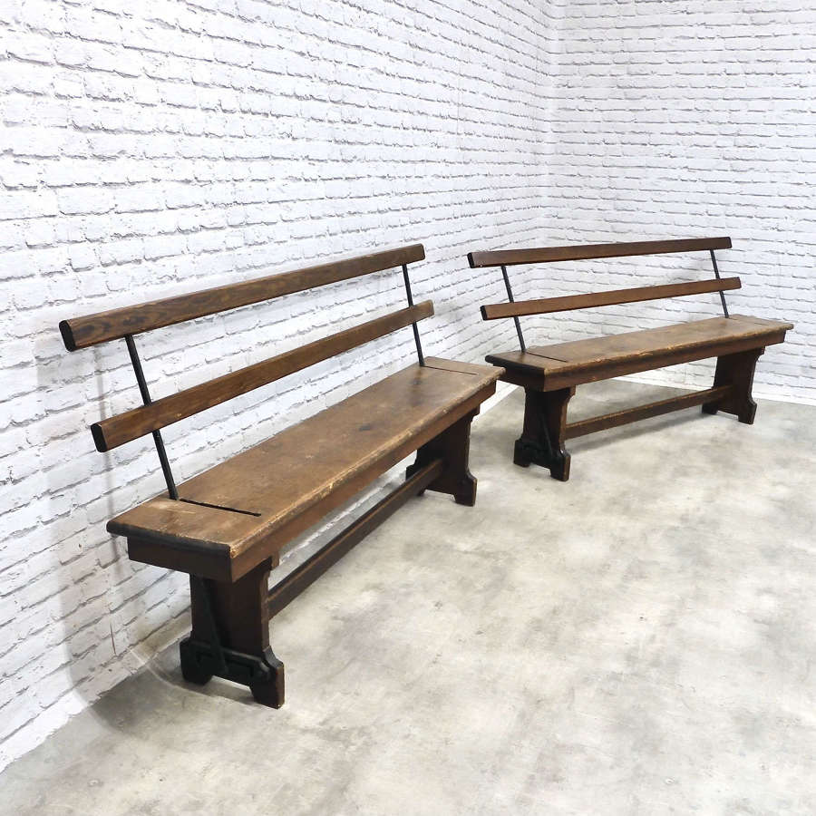Victorian Tram Benches