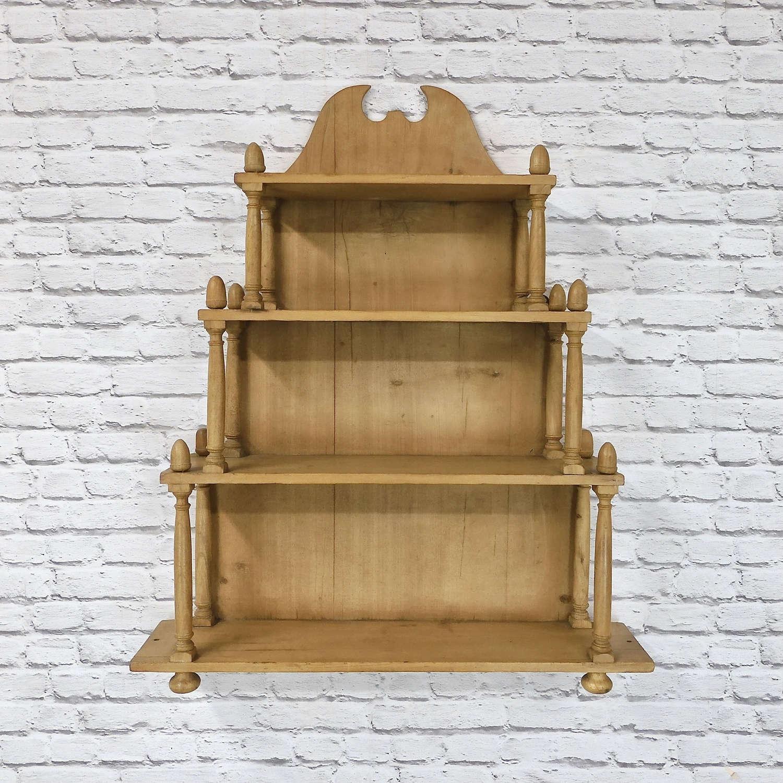 Victorian Pine Wall Shelves