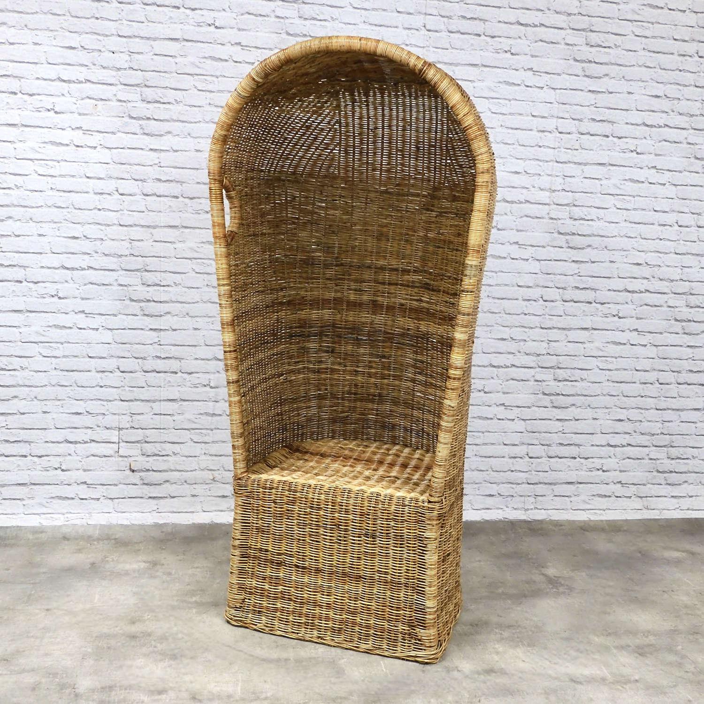 Wicker Porter's Chair