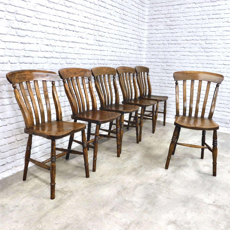 Victorian Windsor Lathback Chairs