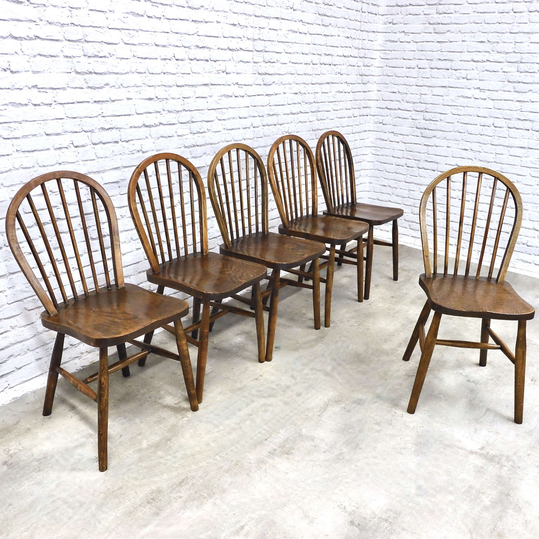 Set Utility Kitchen Chairs