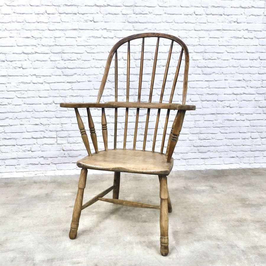 Early Cornish Windsor Armchair