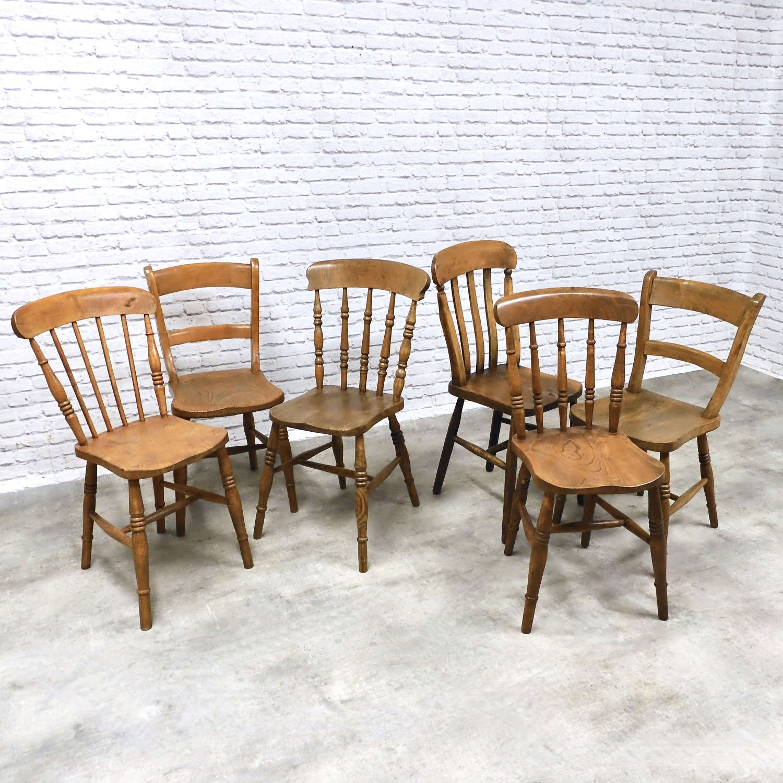 Farmhouse Windsor Kitchen Chairs